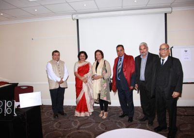 Mrs. Pattanayak with dignataries