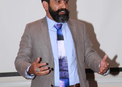 Mr. Siddharth addressing audience